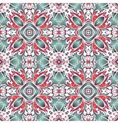 Mexican stylized talavera tiles seamless pattern vector