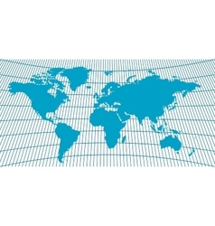Background world map globus vector