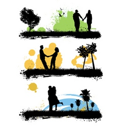 couple love vector image