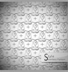 Eyes mesh monochrome seamless pattern vector