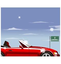Highway convertible vector