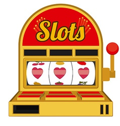 Slots design vector image