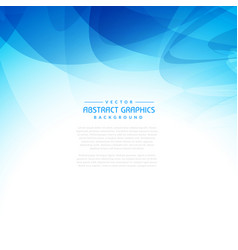Abstract background graphic in blue color vector