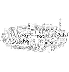 Am i just a freak of nature text word cloud vector