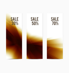 Banner-brown-blend vector