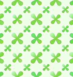 green creative seamless pattern vector image