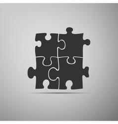 Puzzles icon vector image