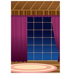 Home Interior Window vector image vector image