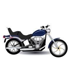 Motorcycle for a ride vector