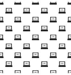 Cinema pattern simple style vector