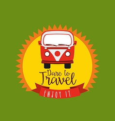 best travel design vector image vector image