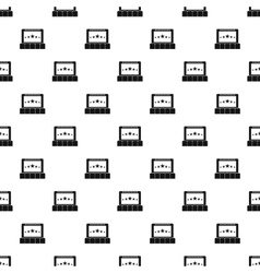 Cinema pattern simple style vector image vector image