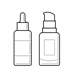 Containers for foundation vector