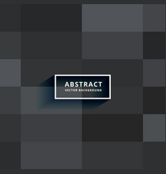 Dark tiles background design vector