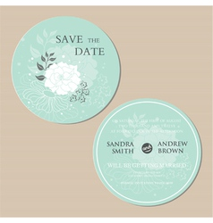 Round invitation vector