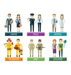 People logo design template police vector