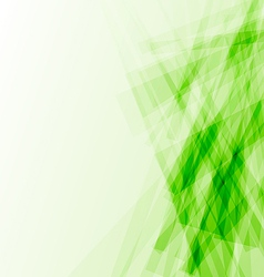 Green business card abstract background vector