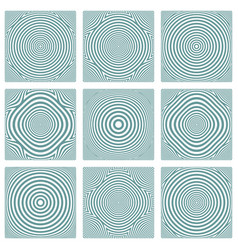 Patterns with circles texture vector