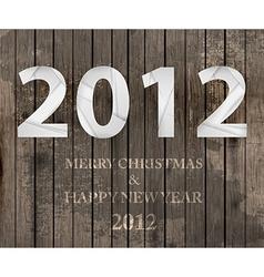 2012 Christmas Banner vector image
