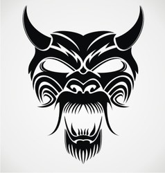 Devil mask vector