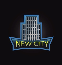 New city professional logo vector