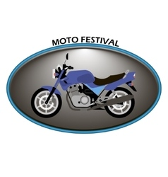 Moto logo on a white background vector