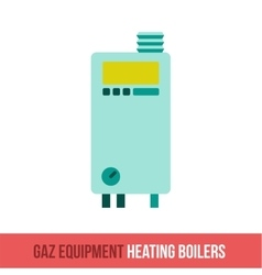Flat icon gas equipment vector