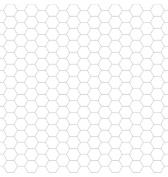 Hexagon geometric pattern - seamless vector