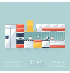 Kitchen cover vector