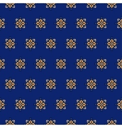 seamless pattern on a blue background 2 vector image vector image