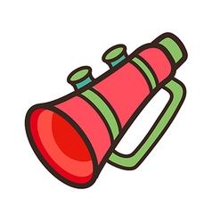 Icon trumpet vector