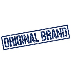 Original brand stamp vector