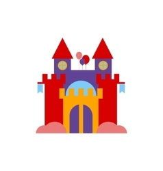 Bouncing castle vector