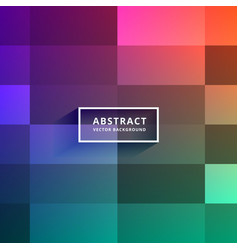Colorful tiles background design vector