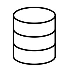 database line icon simple minimal 96x96 pictogram vector image