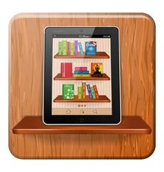 E-book Concept vector image