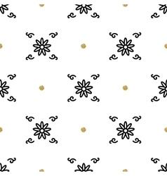 Trendy floral pattern asian motifs seamless vector