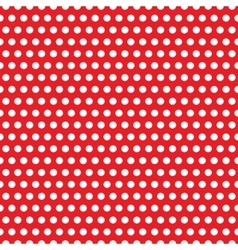 Abstract geometric retro pattern seamless polka vector