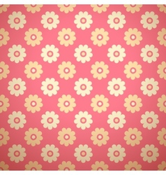 Feminine floral seamless pattern tiling vector image vector image