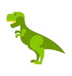 Dinosaur tyrannosaurus angry ancient predator big vector