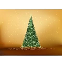 Abstract green christmas tree eps 10 vector