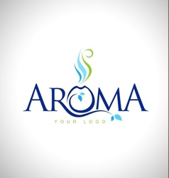 Aroma Therapy Logo Design vector image vector image