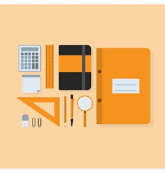 students kit vector image vector image