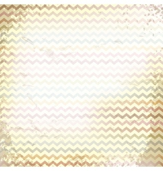 Chevron pattern on linen texture vector
