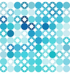Background of repeating geometric stars geometric vector