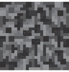 Pixel game seamless pattern vector image
