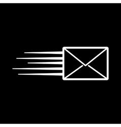 The envelope icon mail symbol vector