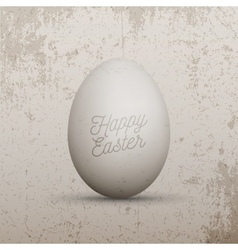 Easter design element realistic chicken egg vector