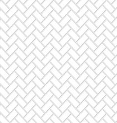 Seamless white brick texture vector
