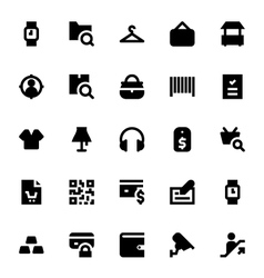 Shopping and Retail Icons 1 vector image vector image